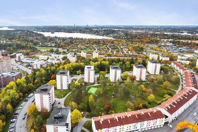 Bild: 3 rum bostadsrätt på Lodvägen 14, Sollentuna kommun Edsberg