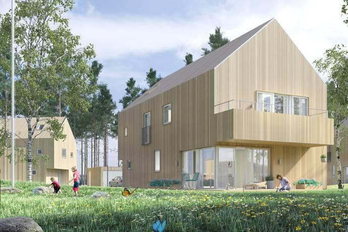 Bild: 6 rum villa på Stratusvägen 24 (Hus Va 2), Uppsala kommun Fullerö