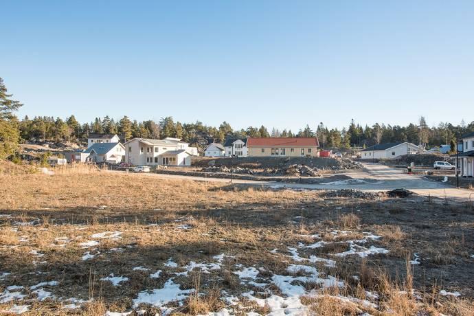 Bild: tomt på Hagabergsvägen 42 & 44, Trosa kommun TROSA