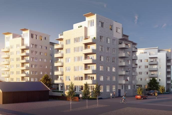 Bild: 4 rum bostadsrätt på Glasbrukskajen, Malmö kommun Limhamns sjöstad