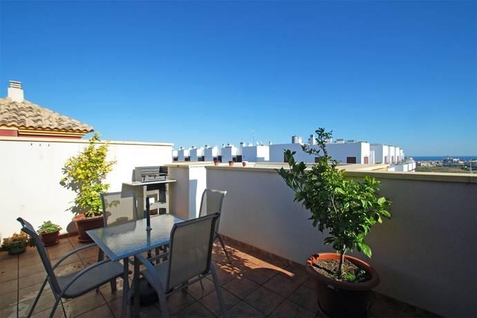 Bild: 3 rum bostadsrätt på Fräsch etagelägenhet med härlig takterrass, Spanien Torrevieja Söder - Lomas de Cabo Roig