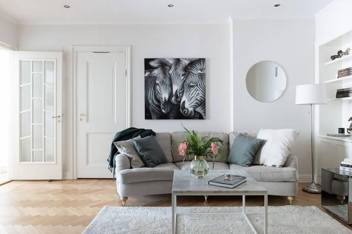Bild: 4 rum bostadsrätt på Linnégatan 104, Stockholms kommun Östermalm