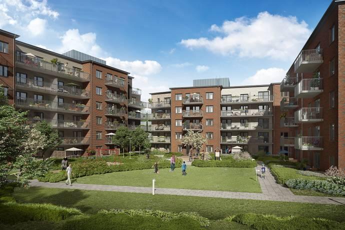 Bild: 6 rum bostadsrätt på Järva Skjutbane väg 35, Solna kommun Järvastaden