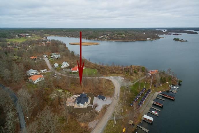 Bild: villa på Blankaviksvägen 5, Västerviks kommun Solstadström