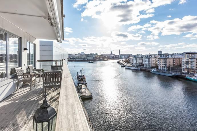 Bild: 4 rum bostadsrätt på Regattakajen 10, pl 6, Stockholms kommun Hammarby Sjöstad