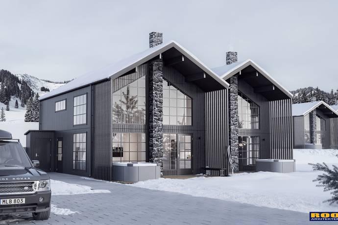 Bild: 5 rum bostadsrätt på BRF Hamrebo 2 / Östra Hamrebacken, Åre kommun Duved
