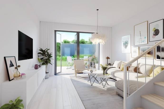 Bild: 4 rum radhus på SKOLVÄGEN 18B hus 9, Haninge kommun Tungelsta