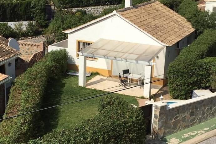 Bild: 3 rum villa på Mysig villa med sydvästvänd tomt, Spanien Mijas Costa