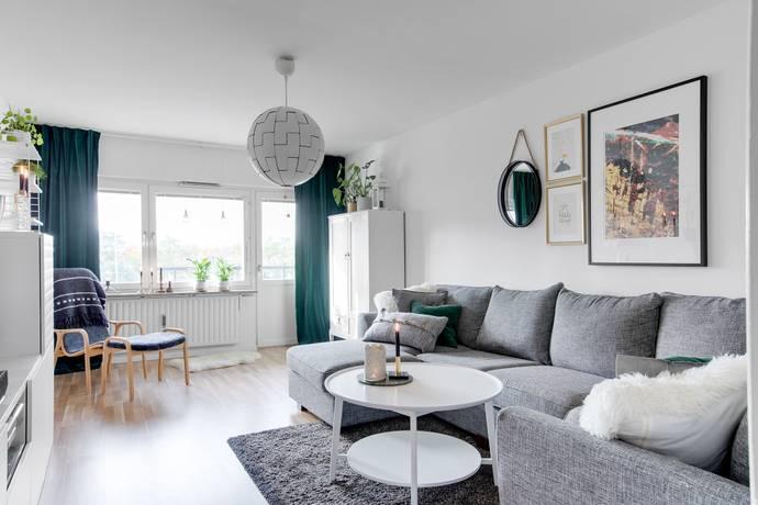 Bild: 2 rum bostadsrätt på Årstagatan 15, Uppsala kommun Salabacke
