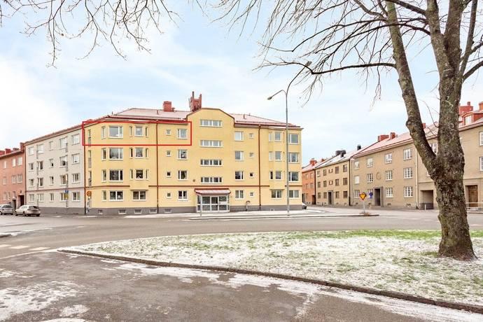 Bild: 2 rum bostadsrätt på Oskarstorget 16C, Örebro kommun Centralt Öster