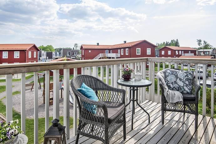 Bild: 2 rum bostadsrätt på Ekebyvägen 10 D, Upplands Väsby kommun Fresta