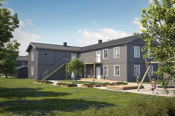 Bild: 3 rum bostadsrätt på Fältstensvägen 62, Haninge kommun Jordbro