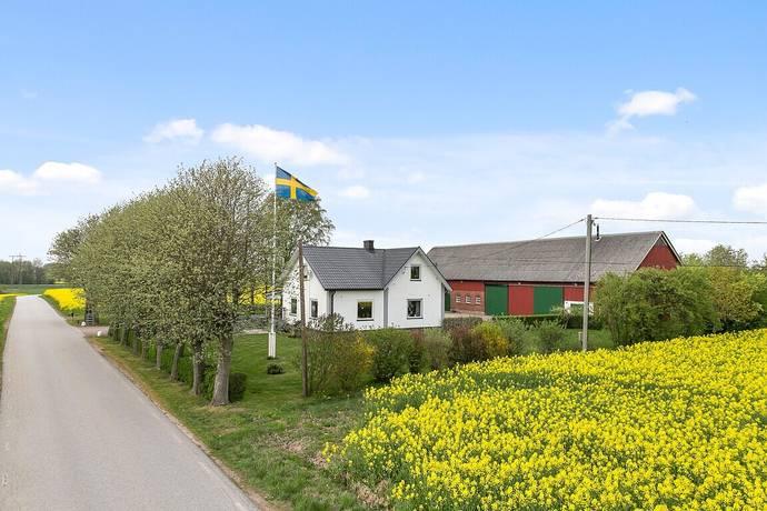 Bild: 6 rum gård/skog på Södergatan 100, Bjuvs kommun Ekeby