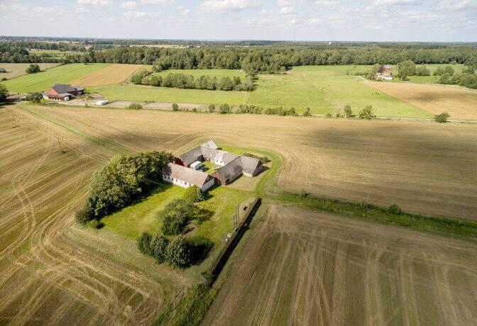 Bild: 135 m² gård/skog på Satsarp 9607, Hörby kommun