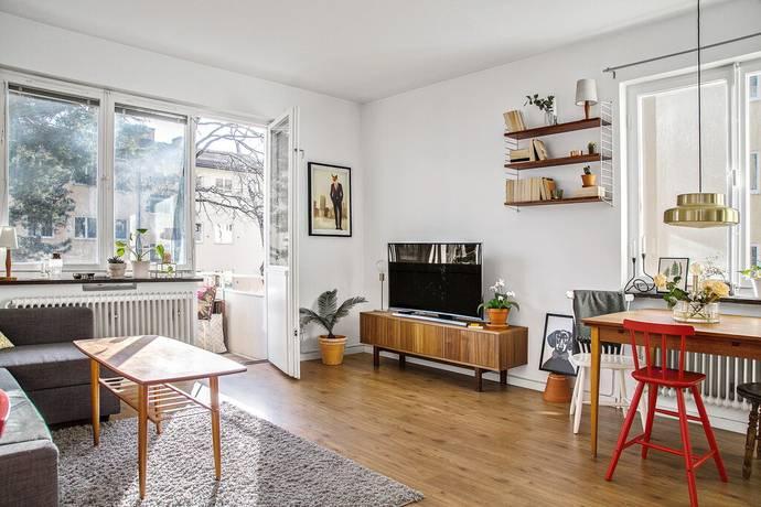 Bild: 3 rum bostadsrätt på Tångvägen 42, Stockholms kommun Telefonplan/Hökmossen