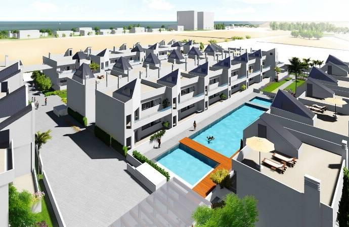 Bild: 3 rum bostadsrätt på TORREVIEJA Playa de los Náufragos, Spanien Costa Blanca