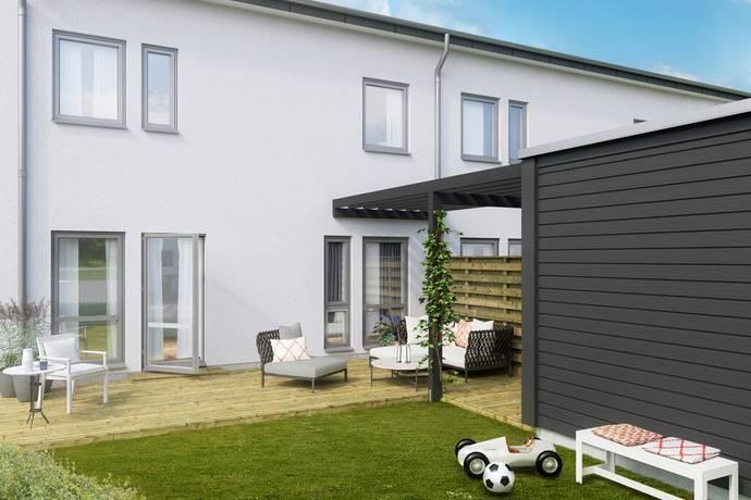 Bild: radhus på Nyproduktion Svarte, Ystads kommun Svarte
