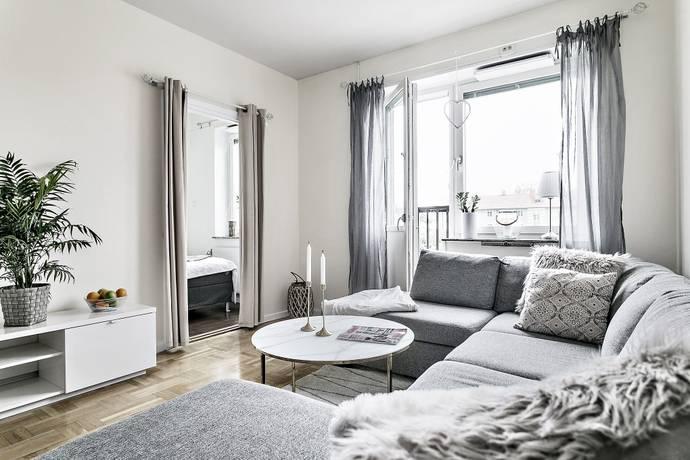 Bild: 2 rum bostadsrätt på Glasmålarvägen 8, 1,5 tr., Stockholms kommun Enskede / Blåsut
