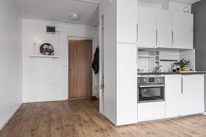 Bild: 1 rum bostadsrätt på Norra Skjutbanegatan 12A, Västerås kommun Haga