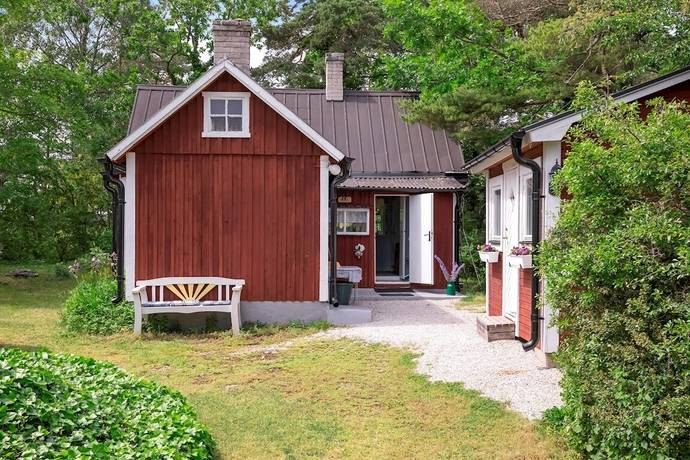ffa825859c98 Bild: 4 rum fritidshus på Väskinde Butter 348, Gotlands kommun Visby med  omnejd
