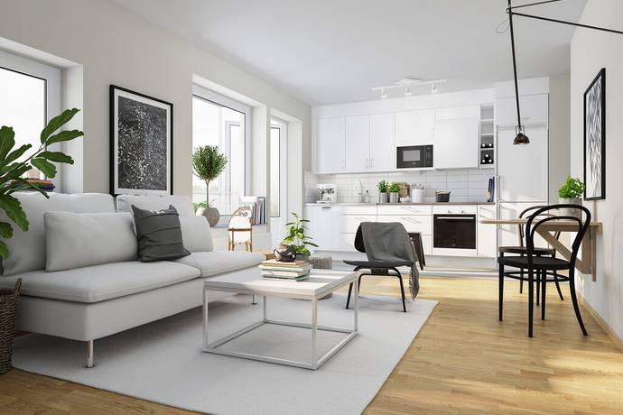 Bild: 1 rum bostadsrätt på Sållargatan 4 - 81301, Uppsala kommun Kungsängen