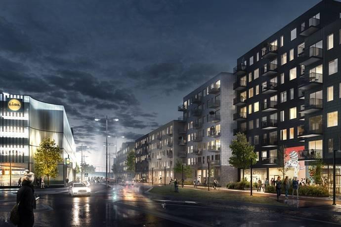 Bild: 3 rum bostadsrätt på Munspelsgatan, Göteborgs kommun Frölunda