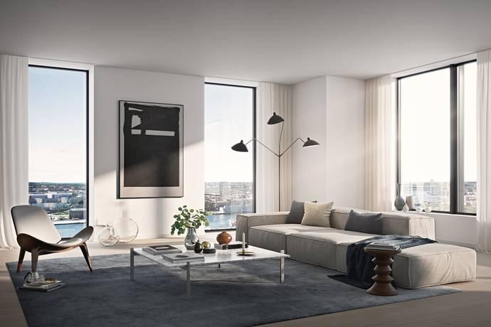 Bild: 3 rum bostadsrätt på Karlatornet, Göteborgs kommun Karlastaden