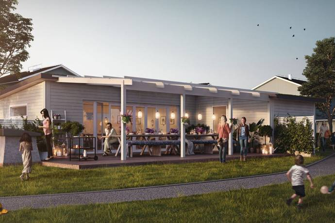 Bild: 5 rum villa på Godsägargatan 3, Upplands Väsby kommun Upplands Väsby