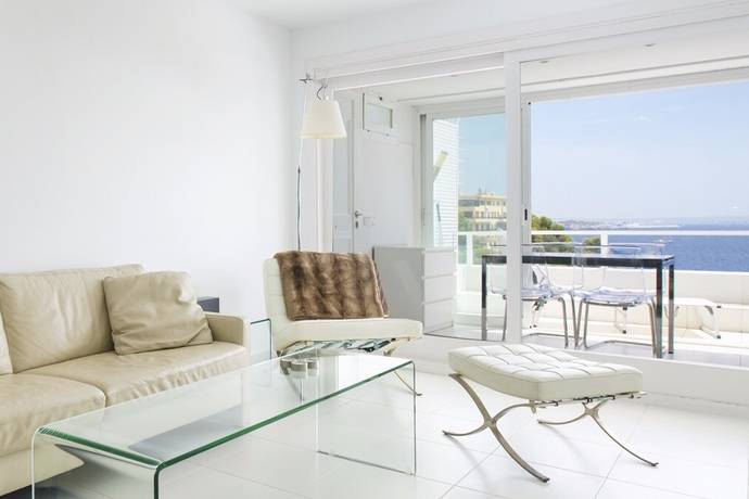 Bild: 3 rum bostadsrätt på Trea med terrass och havsutsikt, Spanien Illetes | Mallorca