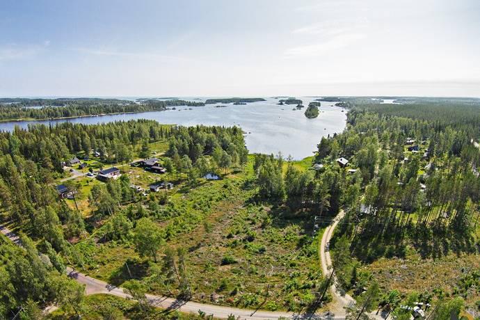Bild: tomt på Bådagrundet, Umeå kommun Bådagrundet