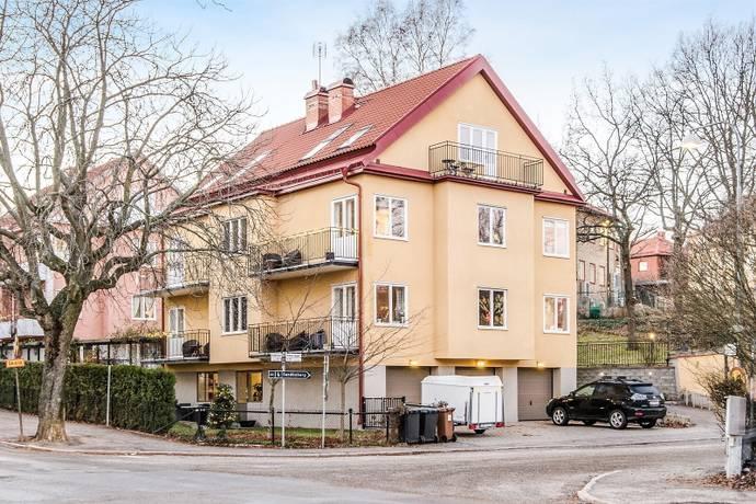 Bild: 3,5 rum bostadsrätt på Stråkvägen 18, Solna kommun Råsunda