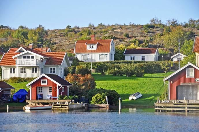 Bild: 4 rum villa på Norgårdsvägen 32, Tanums kommun HAMBURGSUND