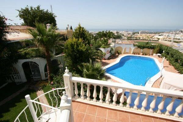 Bild: 13 rum villa på Magnifik villa med utsikt över Nerja i Capistrano Village, Spanien Nerja