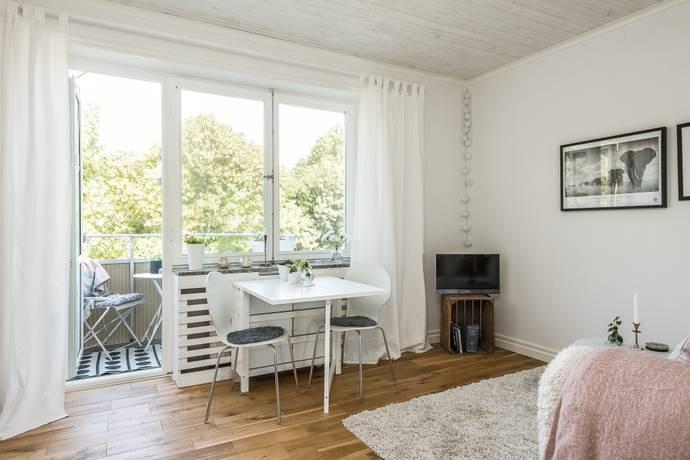 Bild: 1 rum bostadsrätt på Norra Kungsgatan 33, 3 trappor., Gävle kommun Centralt / Norr
