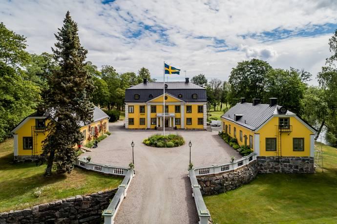 Bild: 48 rum gård/skog på Skebo Herrgård, Norrtälje kommun Skebobruk