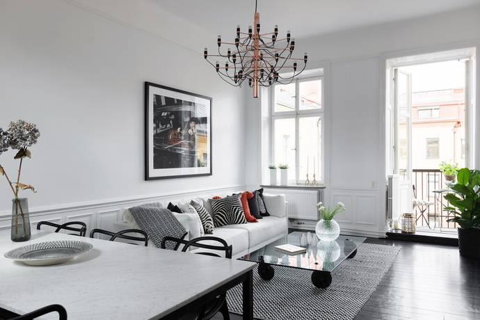 Bild: 2 rum bostadsrätt på Artillerigatan 40, Stockholms kommun Östermalm