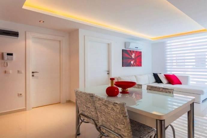 Bild: 2 rum bostadsrätt på Alanya id 3540 Keykubat Apartments 1+1, Turkiet Alanya