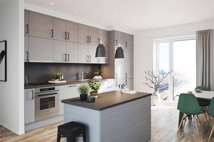 Bild: 4 rum bostadsrätt på Hyllie Corner - Nannas Gata 12, Malmö kommun Hyllie