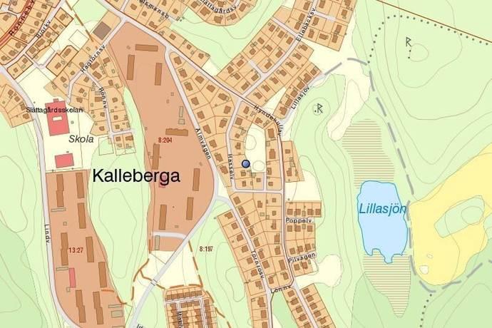 Bild: tomt på Hasselvägen 9, Ronneby kommun Kallinge