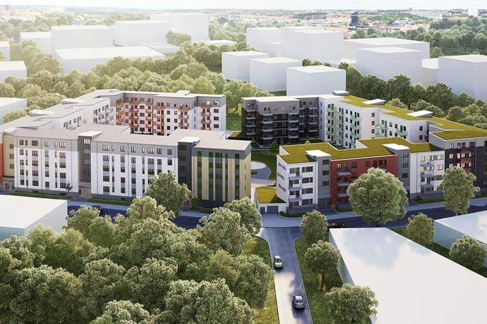 Bild från Barkarbystaden - Brf Landa