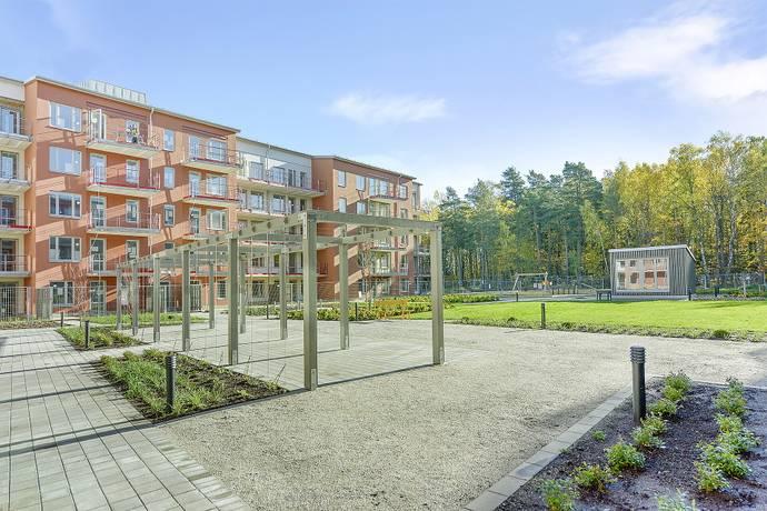 Bild: 3 rum bostadsrätt på Fridensborgsvägen 125, Solna kommun Järvastaden