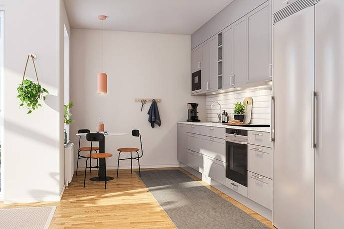 Bild: 2 rum bostadsrätt på Karlsdalsallén lgh 05-1402, Örebro kommun Södra Ladugårdsängen