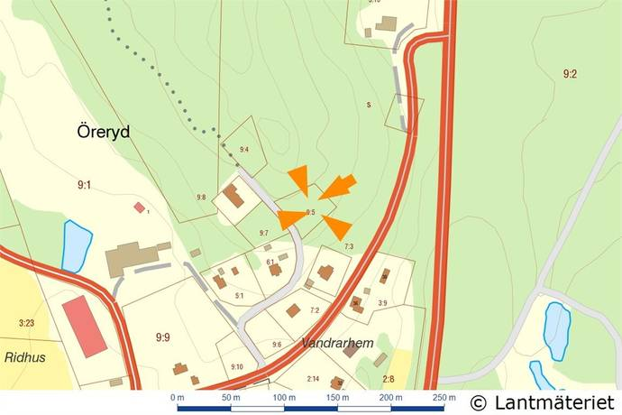 Bild: tomt på Öreryd, Gislaveds kommun Hestra
