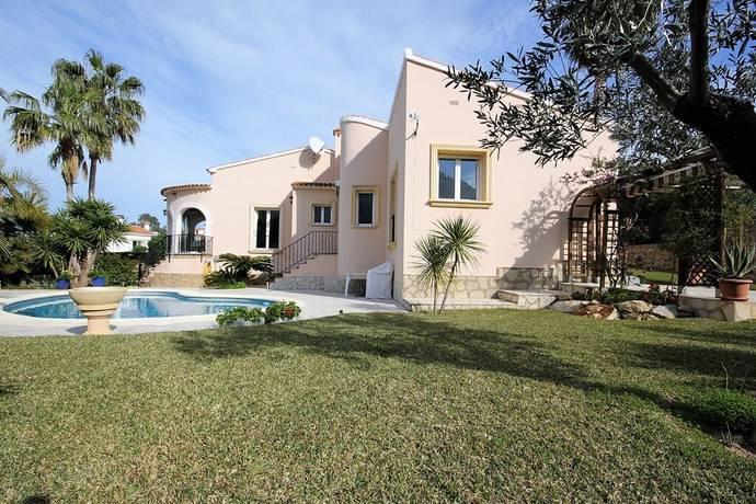Bild: 4 rum villa på Villa med pool och mycket vintersol  i Denia, Spanien COSTA BLANCA - DENIA