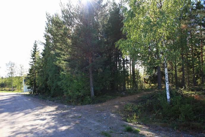 Bild: tomt på Svartuddevägen 7, Hudiksvalls kommun