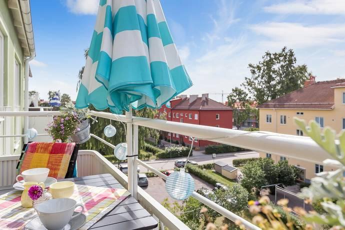 Bild: 3 rum bostadsrätt på Torkelsgatan 10b, Uppsala kommun Fålhagen