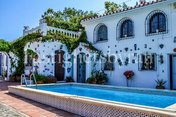 Bild: 8 rum villa på Ett hus för trädgårdsintresserade!, Spanien Torrox | Costa del Sol