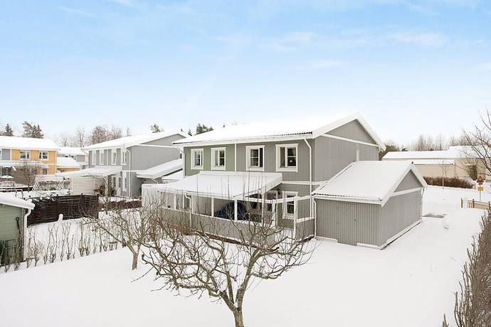 Bild: 5 rum radhus på Curmans Väg 1, Sollentuna kommun Rotsunda