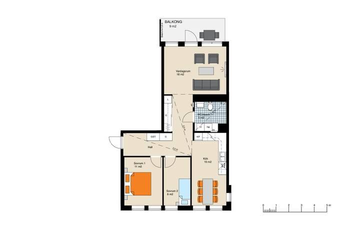 virkesv gen 5 i hammarby sj stad stockholm bostadsr ttsl genhet till salu hemnet. Black Bedroom Furniture Sets. Home Design Ideas