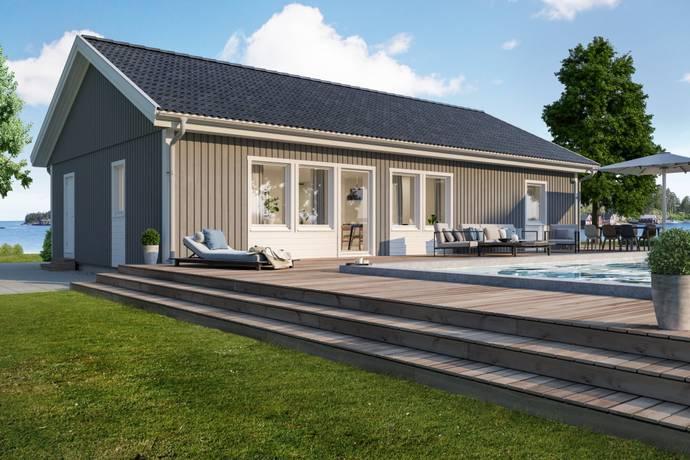 Bild: 4 rum villa på Krokusgatan  6, Herrljunga kommun Horsby